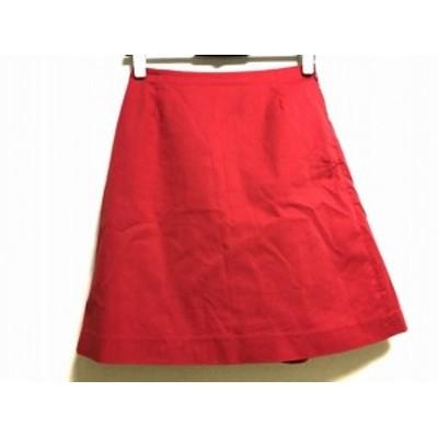 ラ トータリテ La TOTALITE スカート サイズ36 S レディース 美品 レッド【中古】