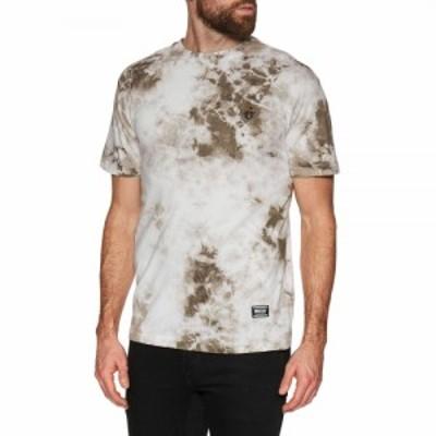 グリズリー Grizzly メンズ Tシャツ トップス mini g-rose short sleeve t-shirt Lightning Wash