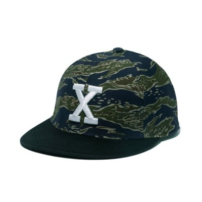 XLARGE / CAMO BASEBALLCAP MEN 帽子 > キャップ