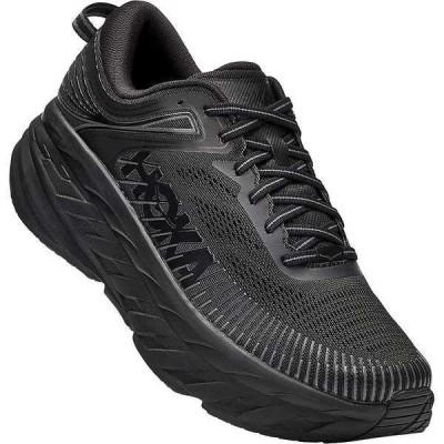 ホッカオネオネ シューズ メンズ ランニング Hoka One One Men's Bondi 7 Shoe Black / Black