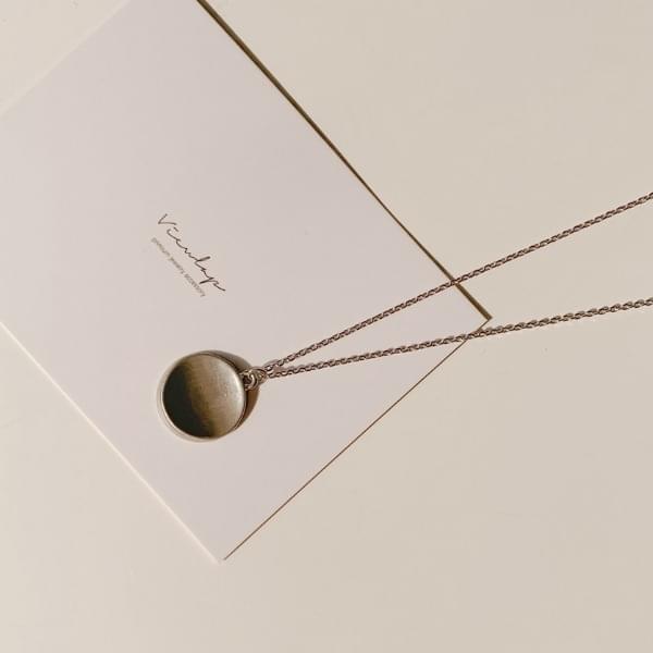 韓國空運 - Libby circle necklace 項鍊