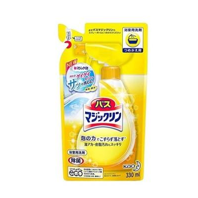 【まとめ買い】 バスマジックリン 泡立ちスプレー つめかえ用 330ml × 3個 浴室用洗剤 母の日