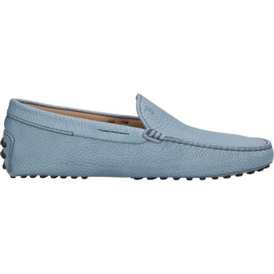 トッズ TOD'S メンズ ローファー シューズ・靴 loafers Pastel blue