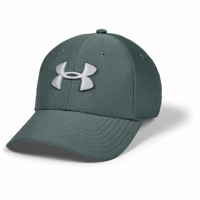 アンダーアーマー 帽子 アクセサリー メンズ Blitzing 3.0 Cap Lichen Blue/Halo Gray