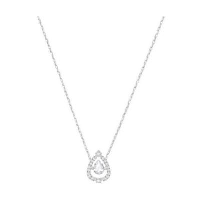 ネックレス スワロフスキー Swarovski Sparkling Dance Necklace Pear-shaped RHS Crystal Authentic MIB 5451992