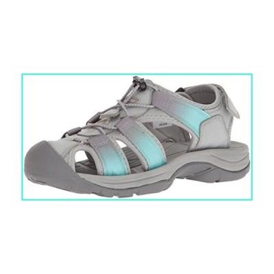 【新品】Northside Women's Trinidad Sport Sandal, Gray/Aqua, Size 7 M US(並行輸入品)