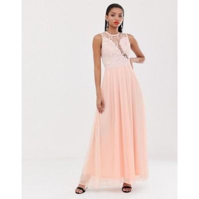 アックスパリス AX Paris レディース ワンピース ワンピース・ドレス high neck maxi dress Pink