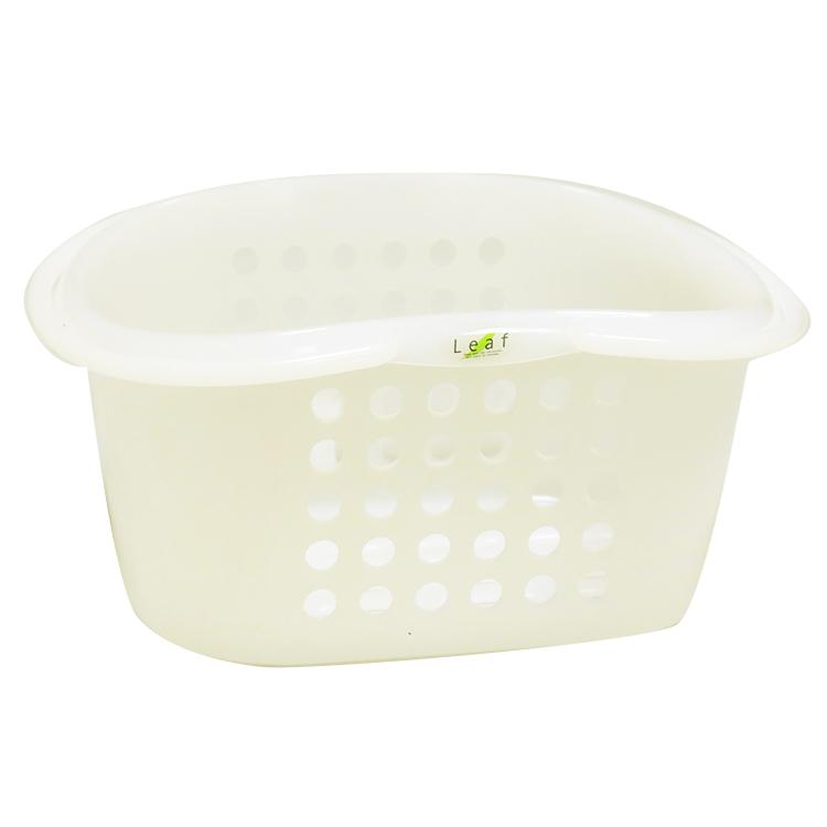 日本製葉提籃-白