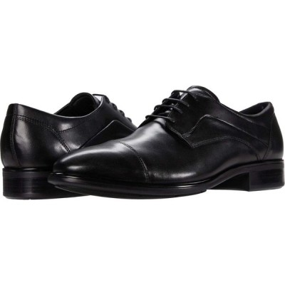 エコー ECCO メンズ シューズ・靴 Citytray Cap Toe Tie Black