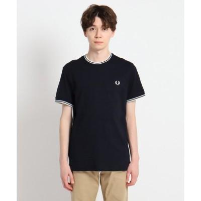 Dessin(Men)(デッサン(メンズ))FRED PERRY 刺繍ティップラインTシャツ M1588