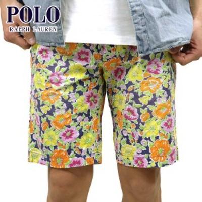 ポロ ラルフローレン ショートパンツ メンズ 正規品 POLO RALPH LAUREN ボトムス  Custom-Fit Floral Short YELLOW  父の日 ギフト プレ