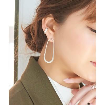 【フィービィー】 スタイリッシュクールメタルピアス レディース - F Phoebe