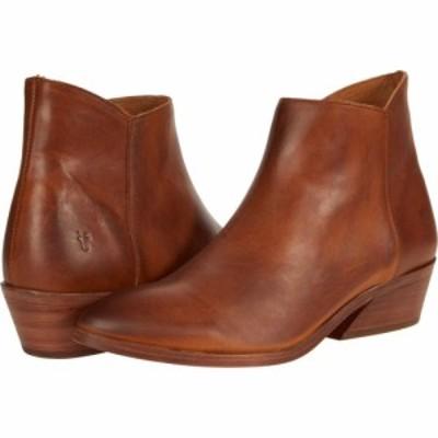 フライ Frye レディース ブーツ シューズ・靴 Farrah Inside Zip Bootie Caramel Antique Pull Up