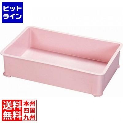 サンコー PP大型カラー番重 A型 ピンク ABV8603