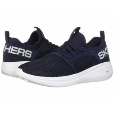 SKECHERS スケッチャーズ メンズ 男性用 シューズ 靴 スニーカー 運動靴 Go Run Fast Valor Navy【送料無料】