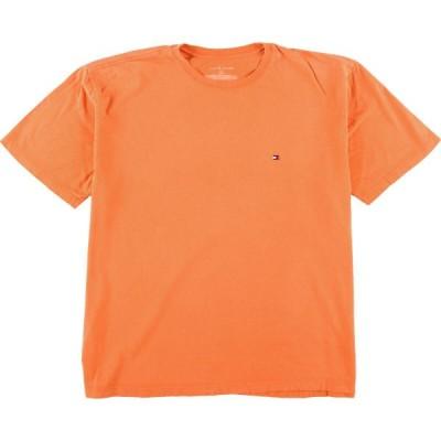 トミーヒルフィガー ワンポイントロゴTシャツ XL /eaa057693