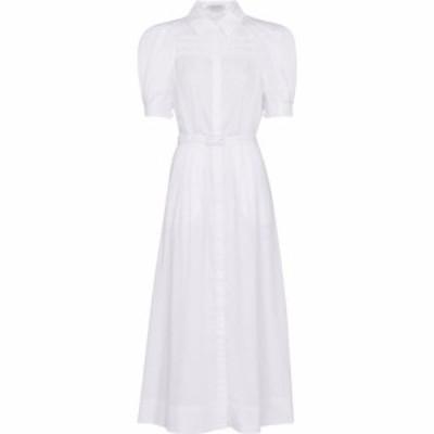 ガブリエラ ハースト Gabriela Hearst レディース ワンピース シャツワンピース ワンピース・ドレス Sen cotton shirt dress Ivory