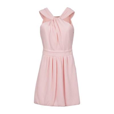 BOUTIQUE MOSCHINO ミニワンピース&ドレス ピンク 42 コットン 51% / ポリエステル 49% ミニワンピース&ドレス