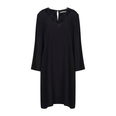 PENNYBLACK ミニワンピース&ドレス ブラック 42 アセテート 71% / レーヨン 29% / ナイロン ミニワンピース&ドレス