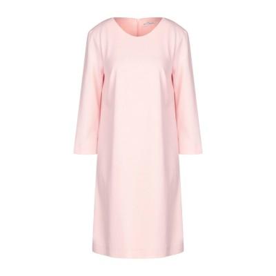 LANACAPRINA ミニワンピース&ドレス ライトピンク 40 ポリエステル 95% / ポリウレタン 5% ミニワンピース&ドレス