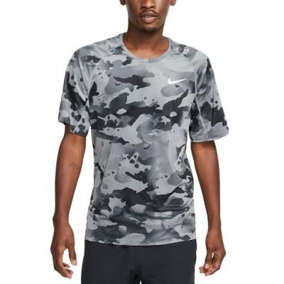 ナイキ メンズ Tシャツ トップス Men's Pro Dri-FIT Camouflage Graphic T-Shirt