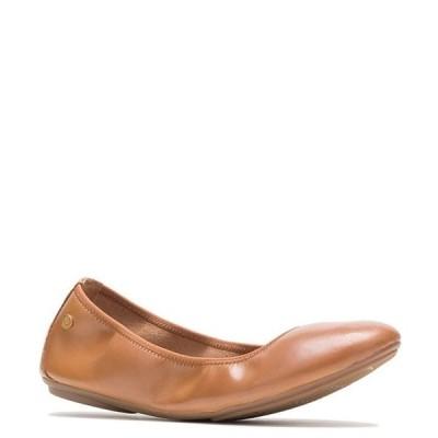 ハッシュパピー レディース パンプス シューズ Chaste Leather Ballet Slip Ons