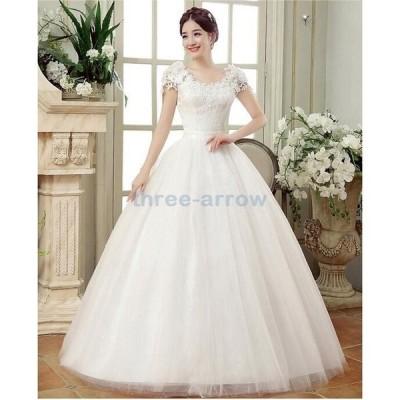 ウェディングドレス 二次会 ウエディングドレス ロング 二次会ドレス パーティードレス ロングドレス 花嫁ドレス イブニングドレス 大きいサイズ 結婚式