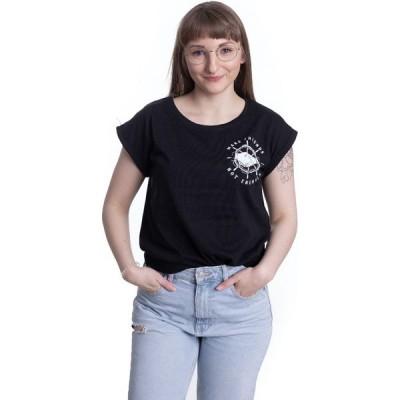 ブルタル ナック Brutal Knack レディース Tシャツ トップス - Make Friends Extended - T-Shirt black