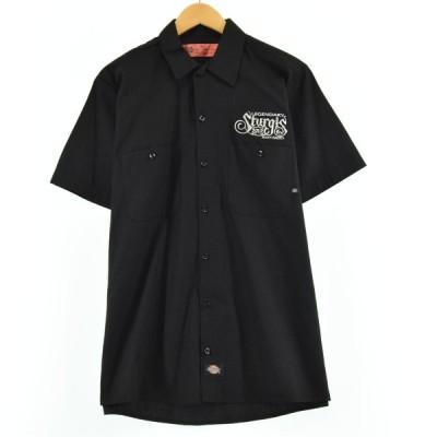 ディッキーズ Dickies 半袖 ワークシャツ メンズM /eaa050219