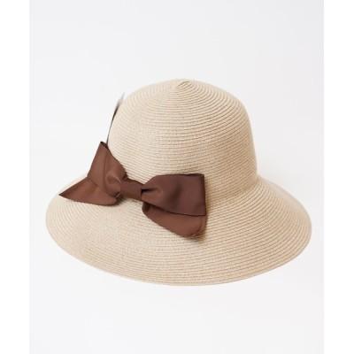 MIG&DEXI / リボン麦わらハット WOMEN 帽子 > ハット