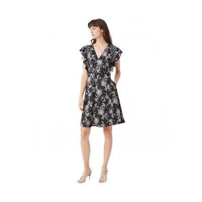 Rebecca Taylor レベッカテーラー レディース 女性用 ファッション ドレス Sleeveless Paisley Dress - Black Combo