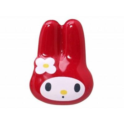 【マイメロディ】フェイス箸置き 磁器製チョップスティックレスト kanesho501512Y