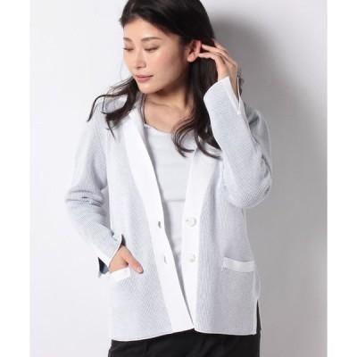Leilian / ニットジャケット