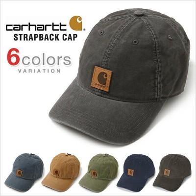 カーハート キャップ CARHARTT CAP ローキャップ 6パネル ストラップバック スナップバック USAモデル メンズ レディース 帽子 carhartt カーハート USA LOW DAD