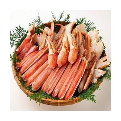OWARI 蟹セット 生ズワイガニ バルダイ種 カット済み 冷凍 加熱用 3kg (1kgx3P) 焼き蟹 カニ鍋 かにしゃぶに ギフト