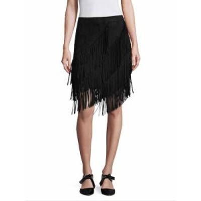 リー&ヴィオラ レディース スカート Fringe A-Line Skirt