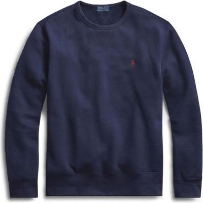 ラルフ ローレン POLO RALPH LAUREN メンズ スウェット・トレーナー トップス Fleece Crewneck Sweatshirt Dark blue