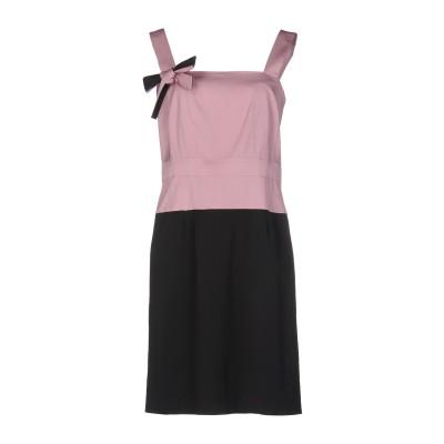 ピアヌラストゥーディ�� PIANURASTUDIO ミニワンピース&ドレス ライトブラウン 42 ポリエステル 100% ミニワンピース&ドレス
