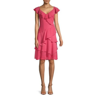ダナ キャラン ニューヨーク ワンピース トップス レディース Donna Karan A-Line Dress rose