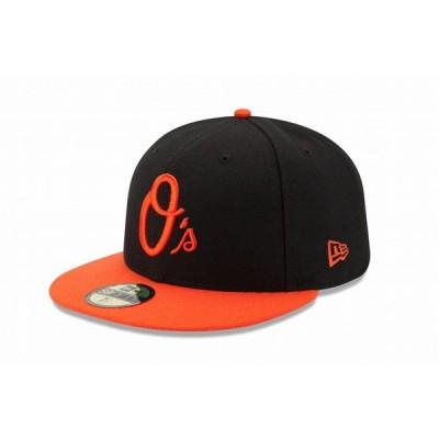 ニューエラ(NEW ERA) 59FIFTY MLB オンフィールド ボルチモア・オリオールズ オルタネイト 11449393