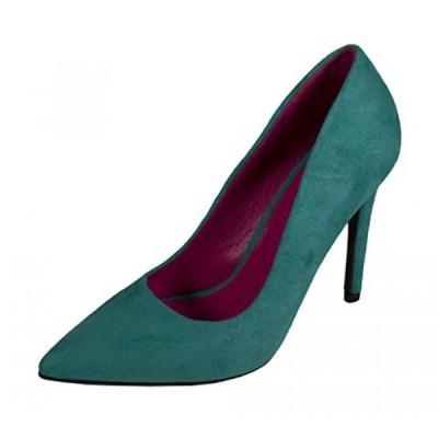 デリシャス レディース パンプス CINDY! Women's Delicious Classic Style High Heel Stiletto Pointy Toe Slip On Dress Pumps