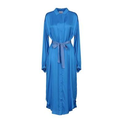フォルテ フォルテ FORTE_FORTE 7分丈ワンピース・ドレス ブライトブルー 1 レーヨン 100% 7分丈ワンピース・ドレス