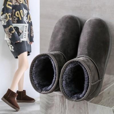 ムートンブーツ レディース ショートブーツ ボア 防寒 暖かい ブーツ ショート 裏起毛 冬 歩きやすい スノーブーツ ファー カジュアル 履きやすい シューズ