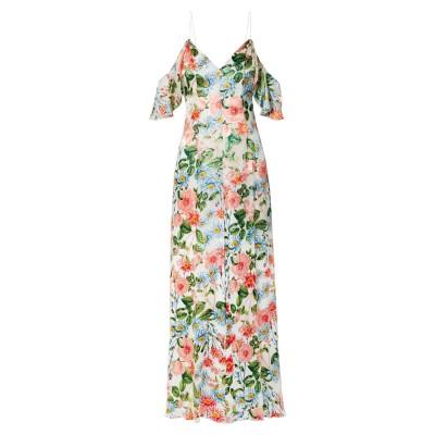 アリス・アンド・オリビア ALICE + OLIVIA ロングワンピース&ドレス ピンク 4 レーヨン 65% / シルク 35% ロングワンピース