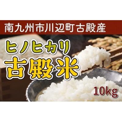 008-10 南九州市川辺町古殿産ヒノヒカリ「古殿米」10kg