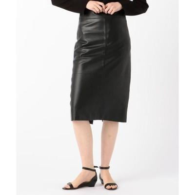 TOMORROWLAND / トゥモローランド DES PRES ハイウェストレザースカート
