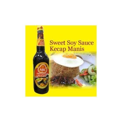 ABC ケチャップマニス (甘口醤油) 620ml×3本セット (HALAL ハラル 認定 商品)