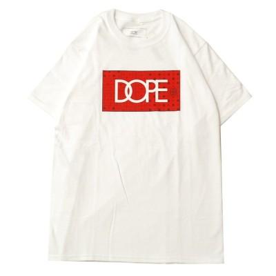 ドープ DOPE BLOOD SWEAT & TEARS S/S Tシャツ WHITE / ホワイト 半袖 Tシャツ