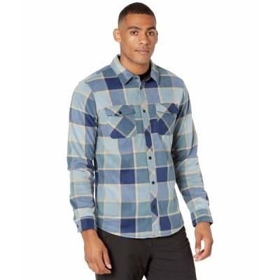オニール シャツ トップス メンズ Glacier Plaid Shirt Navy