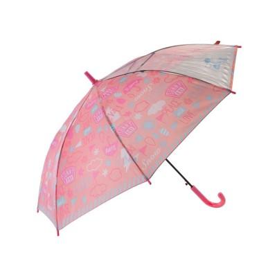 (BACKYARD/バックヤード)キッズ長傘 55cm/レディース ピンク